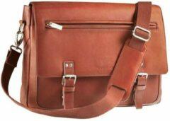Bruine Maverick Vanchetta Messenger Bag 15 inch
