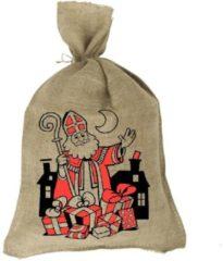 Jute zakken voor Sinterklaasavond 80x50 Cm (5 stuks)