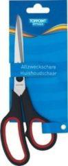 Zwarte Stylex Huishoudschaar, 21 cm