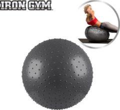 Antraciet-grijze Iron Gym Exercise Massage Ball 65cm