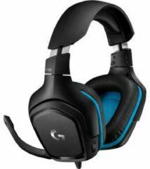 Zwarte Logitech G432 Gaming Headset met DTS Headphone:X 2.0 en 7.1 Surround sound en 50mm audio drivers