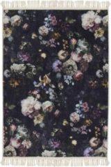 Blauwe Essenza Vloerkleed Fleur Nightblue-180 x 240 cm