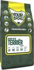 3 kg Yourdog kerry blue terriËr senior hondenvoer