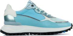 Floris van Bommel Vrouwen Sneakers - 85343 - Turquoise - Maat 38 1/2