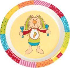 Sigikid Melamine bord Rainbow Rabbit 24441