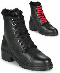 Zwarte Boots en enkellaarsjes IRACHE-CLF by Unisa
