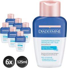Diadermine Waterproof Oogreinigingslotion 6x 125 ml - Voordeelverpakking
