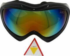Zwarte Amoy K2 TPU Ultra-Light frame. Ski/Snowboard Goggle