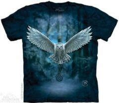 Witte Yogi & Yogini T-Shirt Mountain Artwear Awake Your Magic S