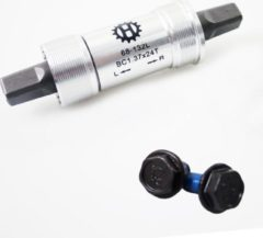 Zilveren Hulzebos Merkloos Trapas 68/132mm BSA alu.cups