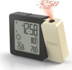 Oregon Scientific BAR 368P Projektions-Wetter-Uhr - cream