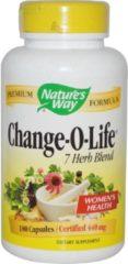 Natures way Change-O-Life 7 kruiden mix voor vrouwen 440 mg (180 Capsules) - Nature's Way