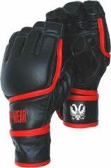 Zwarte Tuf Wear Pro vingerloze MMA/zakhandschoen extra large
