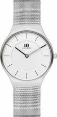 Zilveren Danish Design watches edelstalen dameshorloge Långeland Silver Medium IV62Q1259
