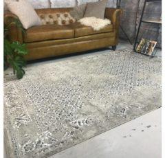 EVA Interior Vintage Vloerkleed Beige - Meadow-[Afmetingen:185 x 275 cm]-[Afmetingen:185 x 275 cm - (L)]