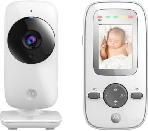 "Afbeelding van Motorola MBP-481 Babyfoon met camera 2.0"" | Wit"