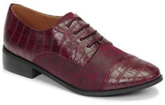 Bordeauxrode Nette schoenen Moony Mood NOULESSE