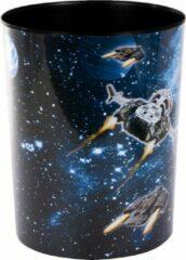 Zwarte GOLDBUCH GOL-82570 prullenbak SPACESHIP