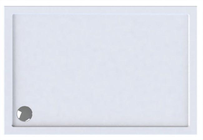 Afbeelding van Wisa Maia douchebak, acryl, wit, (lxbxh) 1500x900x35mm rechthoekig, hoekmodel