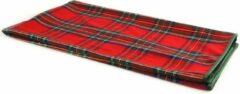 Countryfield Plaid Macbain 140 X 160 Cm Textiel Rood