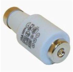 Gele ETI Diazed DII - zekering - porselein - 25 Amp - gL/gG traag
