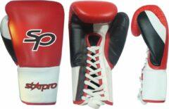 "Zwarte STARPRO Pro Fight lace Gloves ""Layered Foam"" 10 oz"