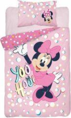 Roze Minnie Mouse Junior Dekbedovetrek Yoohoo 100x135cm