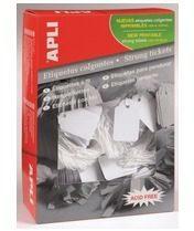 Apple Apli draadetiketten ft 9 x 24 mm (b x h) (384), doos van 1.000 stuks