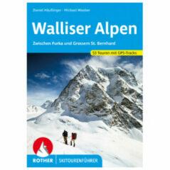 Bergverlag Rother - Walliser Alpen - Skitourgidsen 2. Aktualisierte Auflage 2020