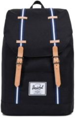 Herschel Retreat Offset Black/Blueprint/White