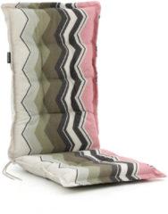 Roze Madison tuinkussens hoge rug 125x50cm - Laagste prijsgarantie!