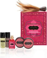 Roze EDC gecensureerd Not specified Kama Sutra - Weekender Kit reisset Aardbei Set van 6