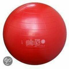 Gymnic Plus 55 BRQ - Zitbal en fitnessbal - Rood - Ø 55 cm
