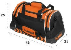 Hummel Sheffield Bag Sporttas - Oranje - Maat One Size