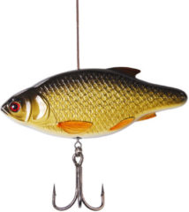 Gouden Madcat Inline Rattler - Rudd - 13cm - 110gr