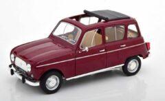 Donkerrode Renault R4L 1966 Dark Red