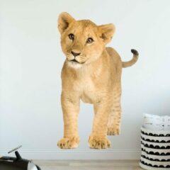 Plakkers Muursticker leeuw/welp
