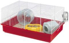 Blauwe Ferplast hamsterkooi criceti 9 assorti 46x29,5x22,5 cm