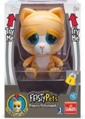 Bruine Goliath Disney Feisty Pets - Princess Pottymouth 11 Cm Geel