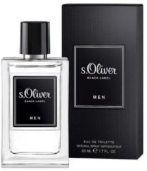 S.Oliver S Oliver For him black label eau de toilette 50 Milliliter