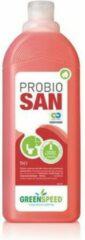 GREENSPEED Probio San Sanitairreiniger, Eco, 1L, Rood (fles 1000 milliliter)