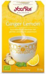 Yogi Tea Ginger Lemon Munt 6-pack (6x 17st)