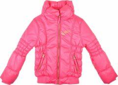 Fuchsia Rumbl! - Winterjas meisjes roze