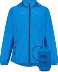 Blauwe Mac in a Sac Origin 2 Regenjas Unisex - Ocean Blue - Maat XS