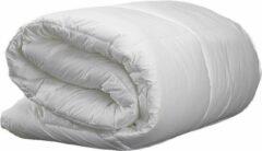 Witte Bestrest Bedden 4-seizoenen dekbed - Silver Comfort - Polyester-Katoenen Tijk - Anti-huisstofmijt - Antiallergisch - machine wasbaar - reukvrij - 140x220cm - Eenpersoons dekbed