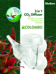 Transparante Colombo Co2 3-1 Diffusor Large per stuk