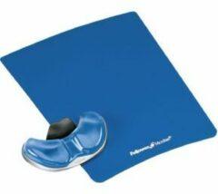 Fellowes Health-V Crystal gliding palmsteun blauw