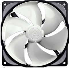 NoiseBlocker NB-eLoop ITR-B12-PS PC-ventilator Wit, Zwart (b x h x d) 120 x 120 x 25 mm
