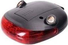 Zwarte ABC-Led Achterlicht + laser units