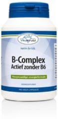 Vitakruid B-Complex actief zonder B6 100 Vegacaps